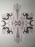 Злая геометрия Стоковые Изображения RF