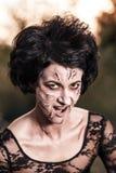 Злая женщина ведьмы стоковая фотография rf