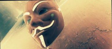 Злая улыбка Стоковое фото RF