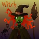Злейшая ведьма Стоковое фото RF