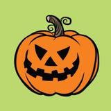 злейшая тыква halloween иллюстрация штока