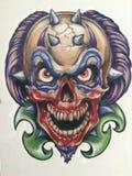 Злейший клоун Стоковое Изображение