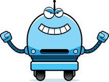 Злий мужской робот Стоковое Фото