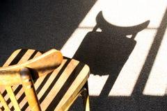 Злий стул Стоковые Фото