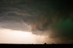 Зловещее облако стены Стоковое Изображение