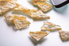 Здоровая версия nachos мозоли Стоковое Изображение RF