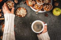 Здоровая выпечка осени Стоковое Фото