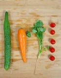 Здоровая еда/ассортимент органических овощей Стоковое Фото