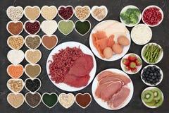 Здоровая еда здания тела Стоковое Изображение RF