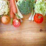 Здоровая еда - здоровая еда Стоковое Изображение
