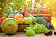 Здоровая еда - здоровая еда Стоковые Изображения