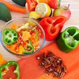 Здоровая еда - здоровая жизнь стоковые фото
