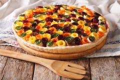 Здоровая еда: конец-вверх лета vegetable кислый горизонтально стоковое фото rf