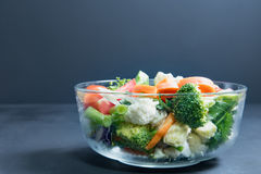 Здоровая еда на таблице, стоковые фотографии rf