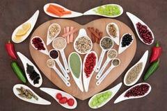 Здоровая еда потери веса Стоковое фото RF