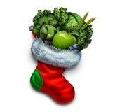 Здоровая еда праздника иллюстрация штока