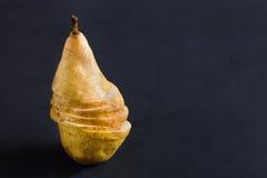 Здоровая еда, предпосылка плодоовощ, отрезала грушу Стоковое Изображение