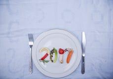 Здоровая еда 2017 Стоковые Изображения