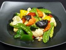 Здоровая еда, mit ruam phak пусковой площадки Стоковая Фотография