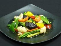 Здоровая еда, mit ruam phak пусковой площадки Стоковые Изображения
