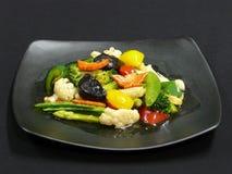 Здоровая еда, mit ruam phak пусковой площадки Стоковые Фото