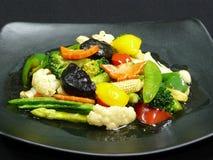 Здоровая еда, mit ruam phak пусковой площадки Стоковое фото RF
