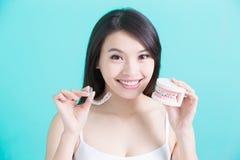 Здоровая зубоврачебная концепция стоковые изображения