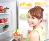 Здоровая концепция еды Стоковые Изображения RF