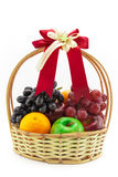 Здоровая корзина подарка плодоовощей Стоковое фото RF