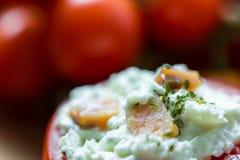 Здоровая красная закуска томатов Стоковое фото RF