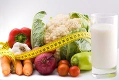 Здоровая потеря веса Стоковые Фотографии RF