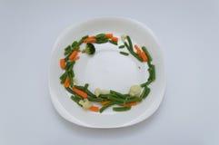 Здоровое обрамленное блюдо Стоковое Изображение RF