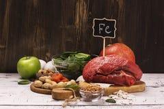 Здоровые богачи продукта утюга Стоковая Фотография