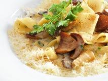 Здоровые вегетарианские макаронные изделия Стоковые Фотографии RF