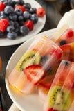 Здоровые все Popsicles плодоовощ Стоковое Изображение RF