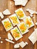 Здоровые закуски хлеба Стоковая Фотография