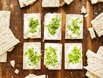Здоровые закуски хлеба Стоковые Изображения