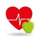 Здоровые дизайн образа жизни, фитнес и концепция культуризма Стоковое фото RF