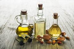 Здоровые масла стоковое изображение