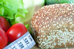 Здоровые овощи - здоровая еда стоковые фото