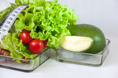 Здоровые овощи - здоровая еда Стоковое Изображение