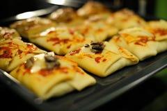 Здоровые плюшки в домашней печи Стоковая Фотография