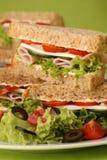 здоровые сандвичи Стоковая Фотография