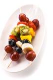 Здоровые kebabs тропического плодоовощ Стоковая Фотография RF