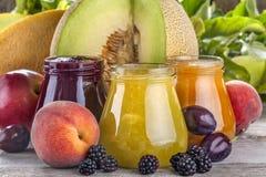 здоровые smoothies Стоковые Изображения