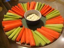 Здоровый вариант закуски на день St. Patrick Стоковая Фотография RF