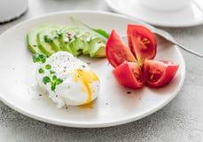 Здоровый вегетарианский завтрак Стоковые Изображения RF