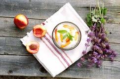 Здоровый десерт Стоковые Фото