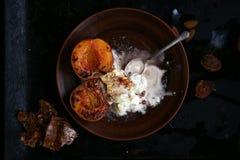 Здоровый десерт Стоковое фото RF