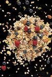 Здоровый завтрак с свежими фруктами Стоковые Фотографии RF